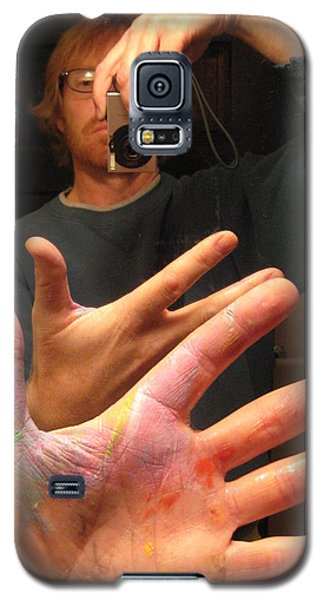 Self Photo Portrait Galaxy S5 Case