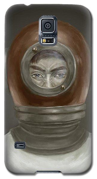 Self Portrait Galaxy S5 Case by Balazs Solti