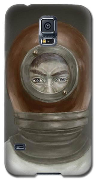 Galaxy S5 Case - Self Portrait by Balazs Solti