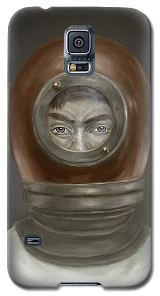 Portraits Galaxy S5 Case - Self Portrait by Balazs Solti