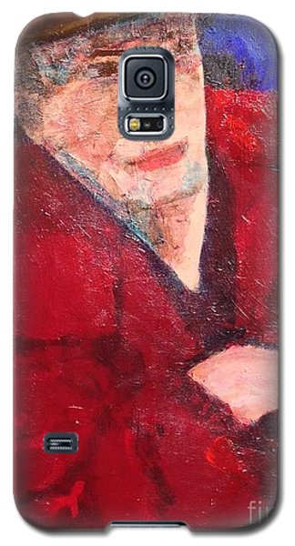 Galaxy S5 Case featuring the painting Self-portrait by Donald J Ryker III