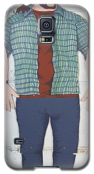 Self Portrait In Full Scale Galaxy S5 Case by Mack Galixtar