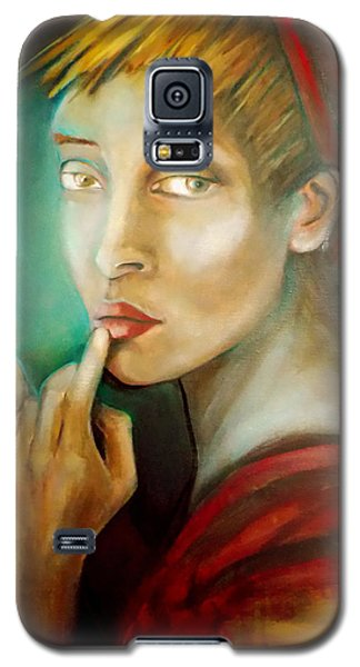 Selfie Galaxy S5 Case by Irena Mohr