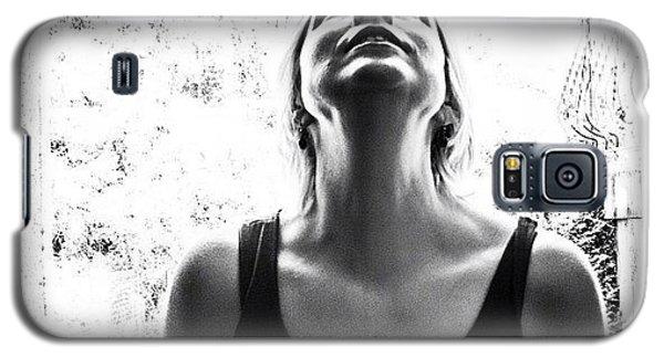 Portraits Galaxy S5 Case - #selfportrait #portrait #noir #bw by Georgia Fowler