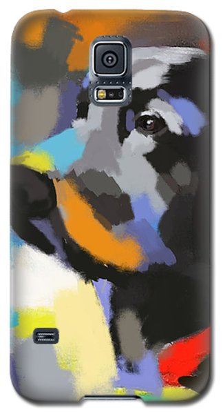 Galaxy S5 Case featuring the painting Dog Sem by Go Van Kampen