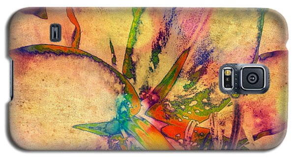 Springtime Floral Abstract Galaxy S5 Case