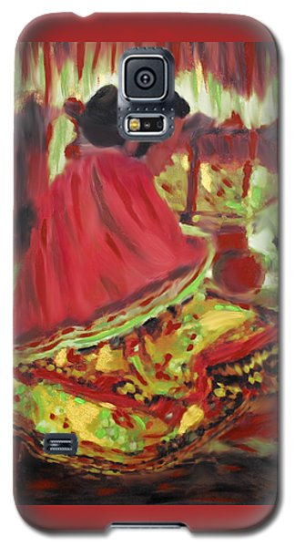 Seminole Indian At Work Galaxy S5 Case