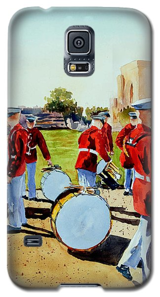 Galaxy S5 Case featuring the painting Semper Fi by Ron Stephens