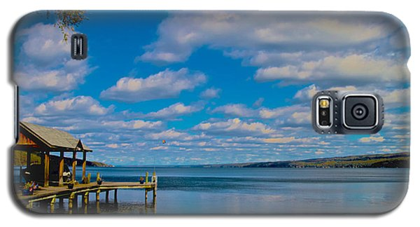 Seneca Lake At Glenora Point Galaxy S5 Case