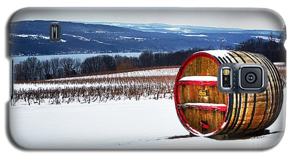 Seneca Lake Winery In Winter Galaxy S5 Case