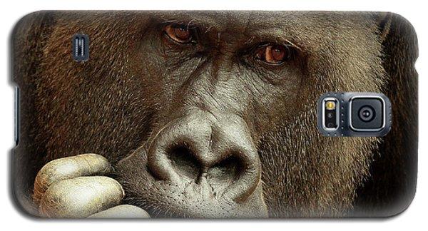 Gorilla Galaxy S5 Case - Sense Of Life ... by Antje Wenner-braun