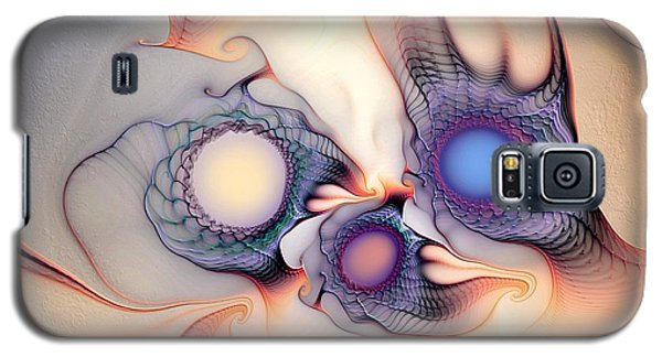 Galaxy S5 Case featuring the digital art Sensorial Nirvana by Casey Kotas