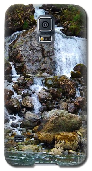 Galaxy S5 Case featuring the photograph Sensory Feast Waterfall by Brigitte Emme
