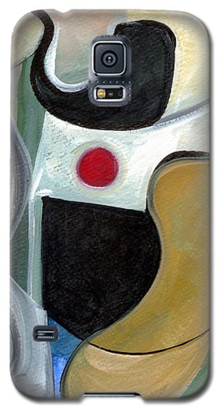 Galaxy S5 Case featuring the painting Sensuous Beauty by Stephen Lucas