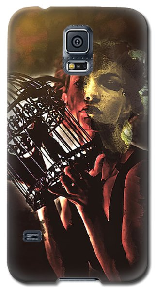 Sentence Portrait Galaxy S5 Case