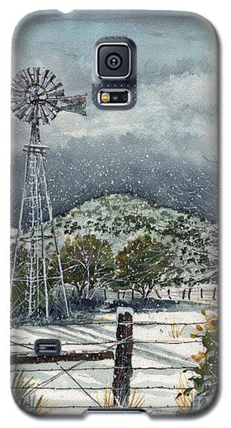 Sentinel Peak On Sentinel Ranch Galaxy S5 Case by Tim Oliver