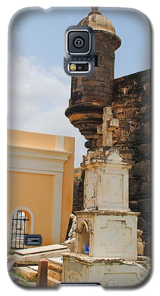 Sentinel Tower Over Graves Galaxy S5 Case