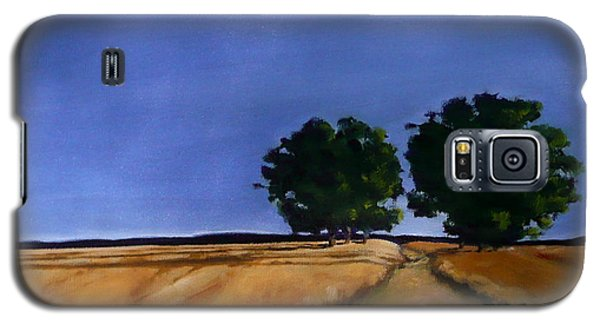 Galaxy S5 Case featuring the painting Sentinels by Jo Appleby