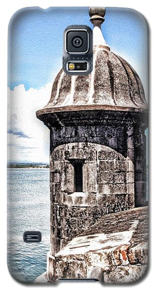 Sentry Box In El Morro Hdr Galaxy S5 Case