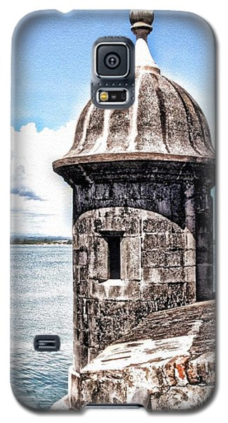 Sentry Box In El Morro Hdr Galaxy S5 Case by The Art of Alice Terrill