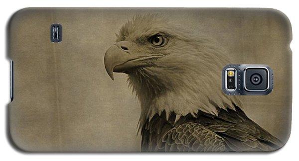 Sepia Bald Eagle Portrait Galaxy S5 Case