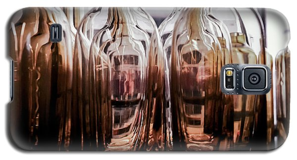 Sepia Bottles Galaxy S5 Case