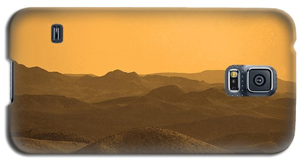 Sepia Mountains Galaxy S5 Case