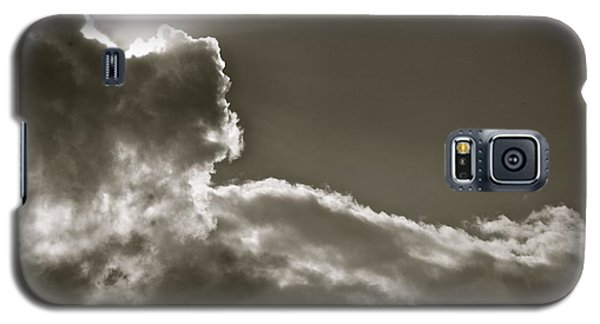Galaxy S5 Case featuring the photograph Sepia Sun Ray by Lennie Green