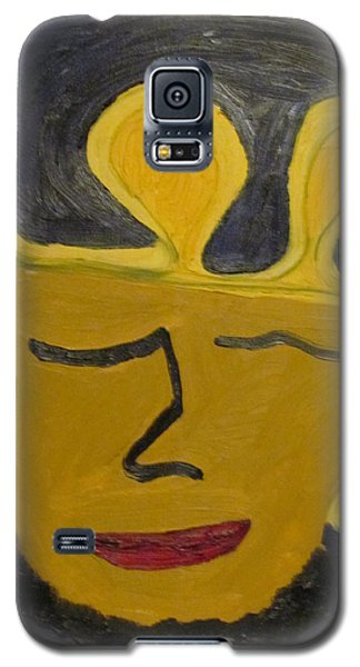 Galaxy S5 Case featuring the painting September  Eleventh  by Shea Holliman