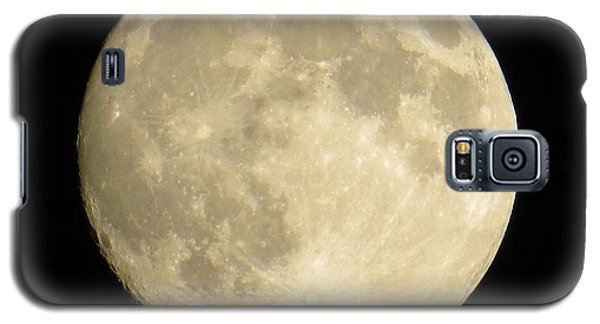Galaxy S5 Case featuring the photograph September Moon by Judy Via-Wolff