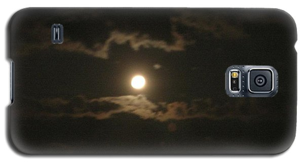 Galaxy S5 Case featuring the photograph September Moonlight by Emmy Marie Vickers