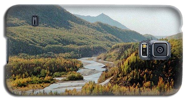 September Morning In Alaska Galaxy S5 Case by Denyse Duhaime