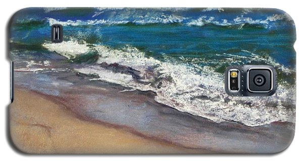 Galaxy S5 Case featuring the painting September On Nantucket by Cindy Plutnicki