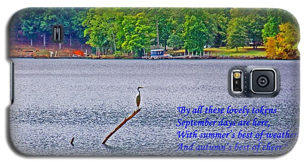September On The Catawba River Galaxy S5 Case by Andy Lawless
