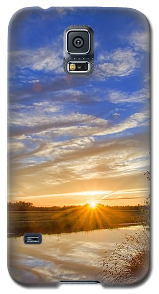 September Sky Reflection Galaxy S5 Case