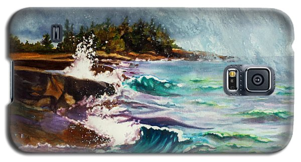 September Storm Lake Superior Galaxy S5 Case