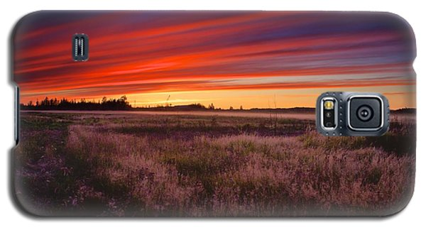 September Sunset North Pole Alaska Galaxy S5 Case by Michael Rogers