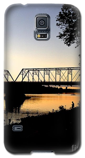 September Sunset On The River Galaxy S5 Case