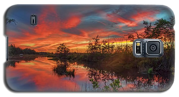 September Sunset Reflection Galaxy S5 Case