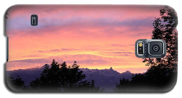 Galaxy S5 Case featuring the photograph September's Evening Sky by Patricia Hiltz
