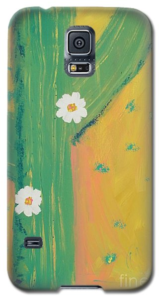 Galaxy S5 Case featuring the painting Sequoia by PainterArtist FINs daughter