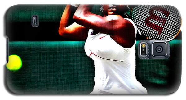 Serena Williams Galaxy S5 Case - Serena Williams 3a by Brian Reaves