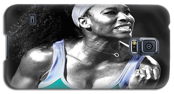 Serena Williams Galaxy S5 Case - Serena Williams Ace by Brian Reaves
