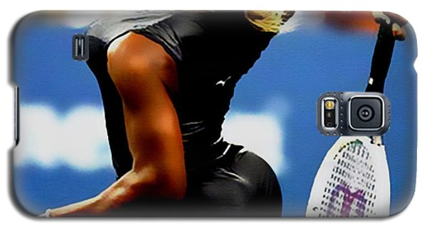 Serena Williams Galaxy S5 Case - Serena Williams Catsuit II by Brian Reaves