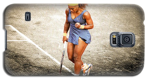 Serena Williams Galaxy S5 Case - Serena Williams Count It by Brian Reaves