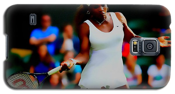 Serena Williams Making It Look Easy Galaxy S5 Case by Brian Reaves
