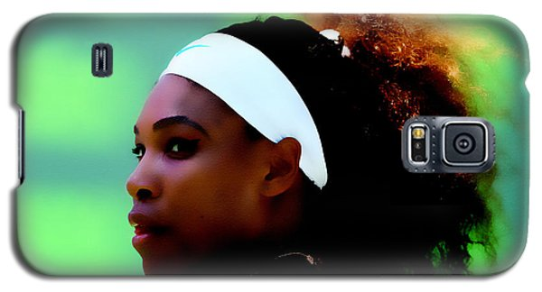 Serena Williams Match Point Galaxy S5 Case by Brian Reaves