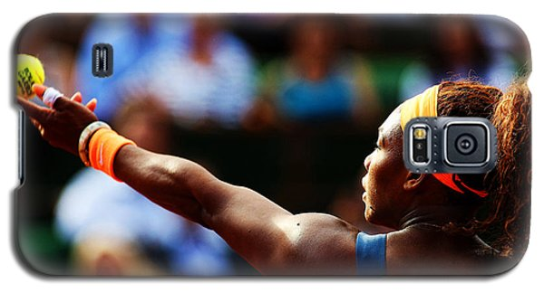Serena Williams Galaxy S5 Case - Serena Williams by Srdjan Petrovic