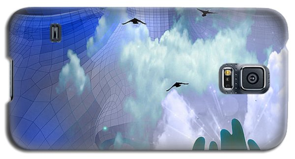 Serene Galaxy S5 Case by Bruce Rolff