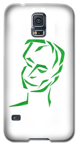 Serene Face Galaxy S5 Case